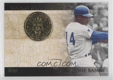 2012 Topps Gold Standard #GS-32 - Ernie Banks