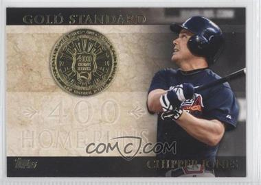 2012 Topps Gold Standard #GS-35 - Chipper Jones