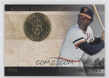 2012 Topps Gold Standard #GS-37 - Willie McCovey