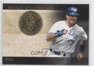 2012 Topps Gold Standard #GS-38 - Paul Molitor