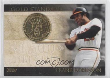 2012 Topps Gold Standard #GS-39 - Frank Robinson