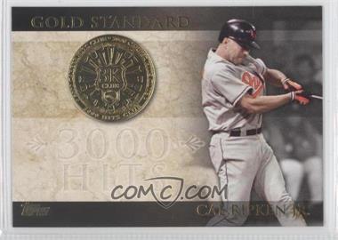2012 Topps Gold Standard #GS-4 - Cal Ripken Jr.