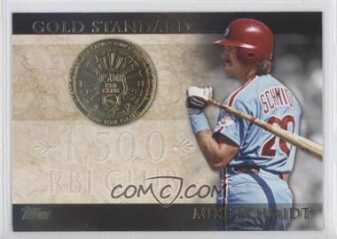 2012 Topps Gold Standard #GS-41 - Mike Schmidt