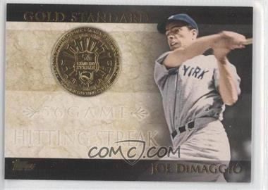 2012 Topps Gold Standard #GS-46 - Joe DiMaggio