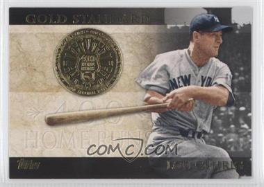 2012 Topps Gold Standard #GS-48 - Lou Gehrig