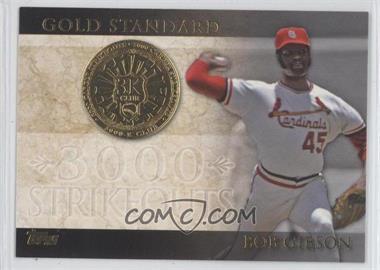 2012 Topps Gold Standard #GS-5 - Bob Gibson