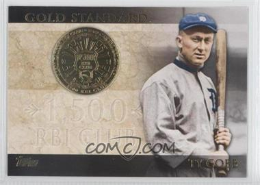 2012 Topps Gold Standard #GS-50 - Ty Cobb