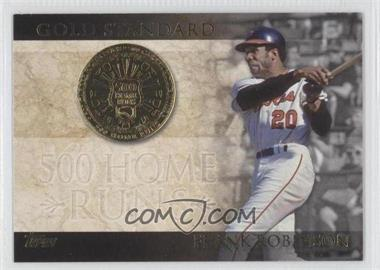 2012 Topps Gold Standard #GS-7 - Frank Robinson