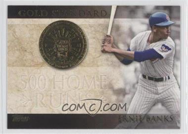 2012 Topps Gold Standard #GS-8 - Ernie Banks