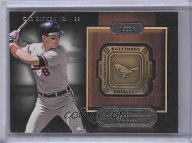 2012 Topps Gold Team Rings #GTR-CR - Cal Ripken Jr.