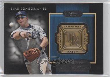 2012 Topps Gold Team Rings #GTR-EL - Evan Longoria