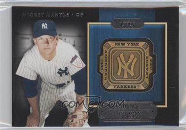 2012 Topps Gold Team Rings #GTR-MM - Mickey Mantle