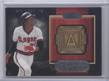 2012 Topps Gold Team Rings #GTR-RCA - Rod Carew