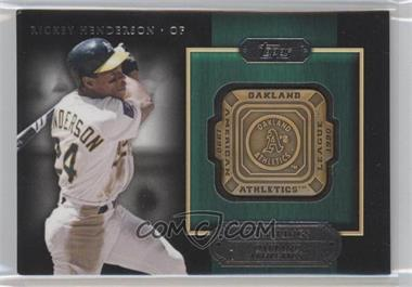 2012 Topps Gold Team Rings #GTR-RH - Rickey Henderson