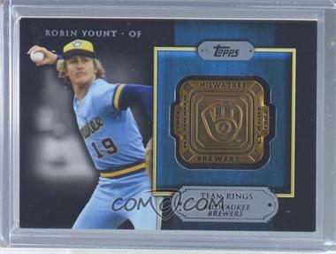 2012 Topps Gold Team Rings #GTR-RY - Robin Yount