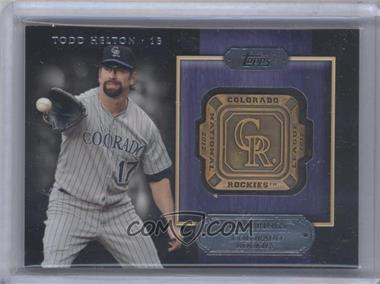 2012 Topps Gold Team Rings #GTR-TH - Todd Helton