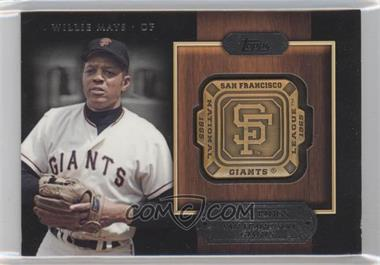2012 Topps Gold Team Rings #GTR-WM - Willie Mays
