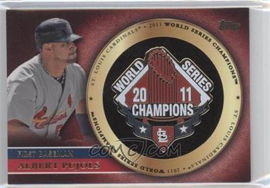 2012 Topps Gold World Series Pin Card #GWSP-AP - Albert Pujols