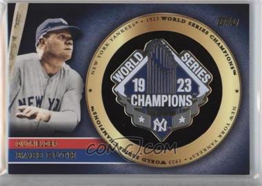 2012 Topps Gold World Series Pin Card #GWSP-BR - Babe Ruth