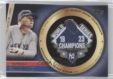 2012 Topps Gold World Series Pin Card #GWSP-BR - Babe Ruth