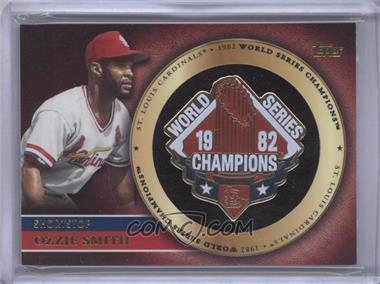2012 Topps Gold World Series Pin Card #GWSP-OS - Ozzie Smith