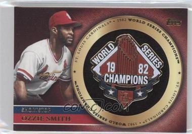 2012 Topps Gold World Series Pin Card #GWSP-OS - Ozzie Smith
