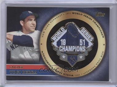 2012 Topps Gold World Series Pin Card #GWSP-YB - Yogi Berra
