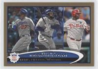 Matt Kemp, Prince Fielder, Ryan Howard /2012