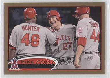 2012 Topps Gold #446 - Mike Trout /2012
