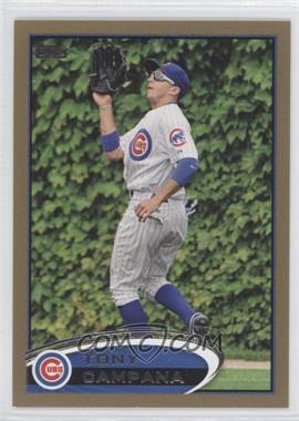 2012 Topps Gold #580 - Tony Campana /2012