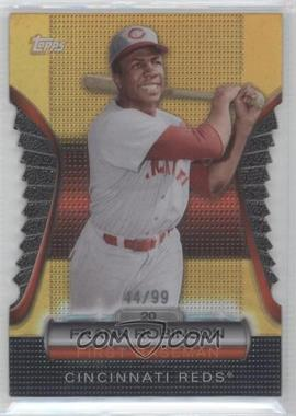 2012 Topps Golden Giveaway Contest Golden Moments Die-Cut Gold #GMDC-12 - Frank Robinson /99