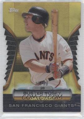 2012 Topps Golden Giveaway Contest Golden Moments Die-Cut Gold #GMDC-53 - Buster Posey /99