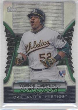 2012 Topps Golden Giveaway Contest Golden Moments Die-Cut #GMDC-101 - Yoenis Cespedes
