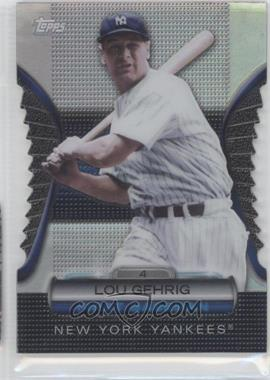 2012 Topps Golden Giveaway Contest Golden Moments Die-Cut #GMDC-2 - Lou Gehrig