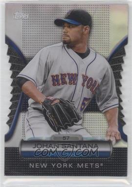 2012 Topps Golden Giveaway Contest Golden Moments Die-Cut #GMDC-46 - Johan Santana