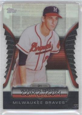 2012 Topps Golden Giveaway Contest Golden Moments Die-Cut #GMDC-8 - Warren Spahn