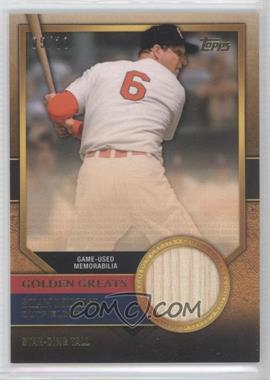 2012 Topps Golden Greats Relics #GGR-SM - Stan Musial /10