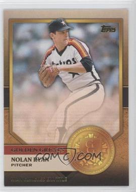 2012 Topps Golden Greats #GG-10 - Nolan Ryan