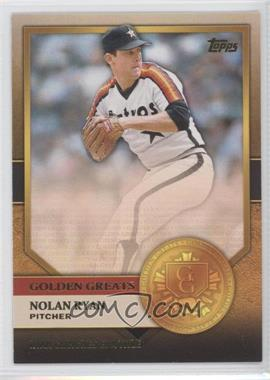 2012 Topps Golden Greats #GG-10 - Nolan Ryan