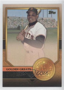 2012 Topps Golden Greats #GG-15 - Willie Mays