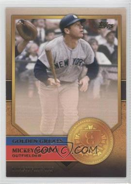 2012 Topps Golden Greats #GG-31 - Mickey Mantle