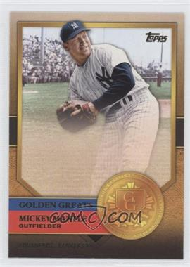 2012 Topps Golden Greats #GG-34 - Mickey Mantle