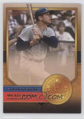 2012 Topps Golden Greats #GG-35 - Mickey Mantle