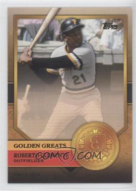 2012 Topps Golden Greats #GG-36 - Roberto Clemente