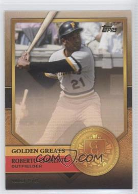 2012 Topps Golden Greats #GG-36 - Roberto Clemente