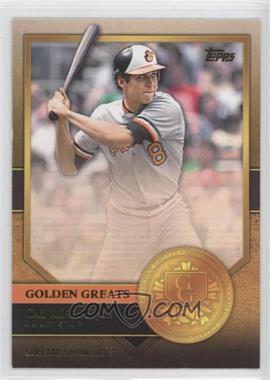 2012 Topps Golden Greats #GG-43 - Cal Ripken Jr.