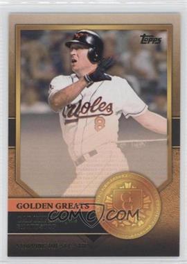 2012 Topps Golden Greats #GG-44 - Cal Ripken