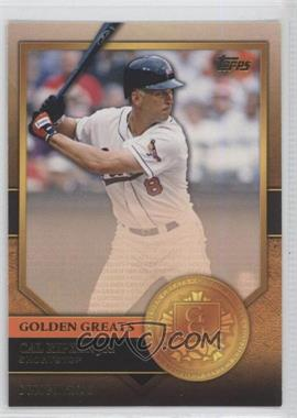 2012 Topps Golden Greats #GG-45 - Cal Ripken Jr.