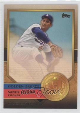 2012 Topps Golden Greats #GG-48 - Sandy Koufax