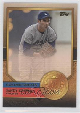 2012 Topps Golden Greats #GG-49 - Sandy Koufax